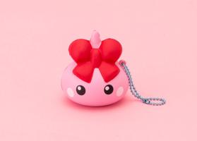 Hoppe Chan Squishy Keychain