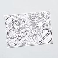 January Galactic Adventures Doodle