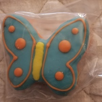 Woofables Honey Oat biscuits - Butterflies