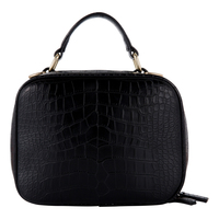Lionel Handbags Solange Purse - Black / Gold