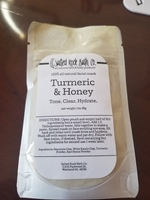 Salted Rock Bath Co Turmeric & Honey Mask
