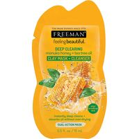 Freeman manuka honey & tea tree oil clay mask & cleanser