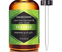 Tea Tree Essential Oil, Pure Body Naturals