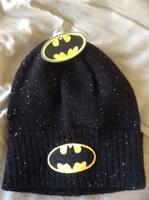 Batman Beanie - Black/Yellow Logo