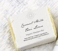 UnEarth Melee Coconut Milk and Thai Lime Shampoo Bar