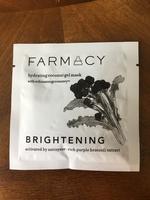 Farmacy hydrating coconut gel mask