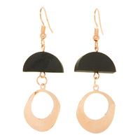 Earfleek Earrings Sexy MF in Black