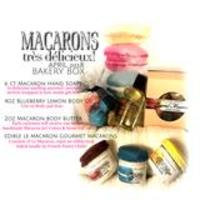 6 boxes macaroon hand soaps