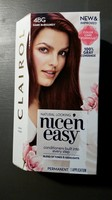Clairol Nice 'n Easy Hair Color Dark Burgundy 4BG