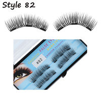 Triple Magnetic Glue-free False Eyelashes 4 Pcs