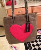 Pink Cosmo Heart Tote