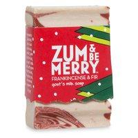 Indigo Wild Zum and Be Merry Mini Frankincense-Fir Bar