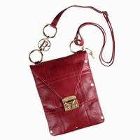 Alisse Leather Messenger Bag