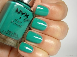 "NYX ""Mermaid Green"" Nail Polish"