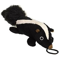 Pet Lou EZ Squeakers Pet Toy, Skunk, 11-Inch