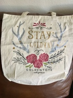 "Golden Tote ""Stay Golden"" Tote Bag"