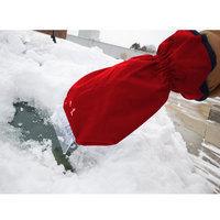 Premium Ice Scraper Mitt with Fleece Lining & Waterproof Outer Shell