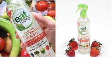 Eat Cleaner Fruit & Vegetables Spray Wash