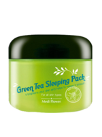 Media Flower Green tea sleeping pack