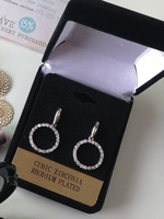 Touch of Sparkle ~ Cubic Zirconia Earrings