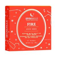 Spongelle Zodiac Body Buffer - Fire (spiced neroli)