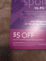 $5 off $20 beauty brands coupon