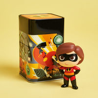 The Incredibles Mystery Mini Tin with Mrs. Incredible Figure