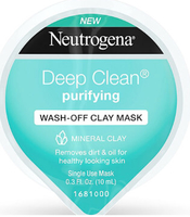 Neutrogena Deep Clean Purifying Wash Off Clay Mask