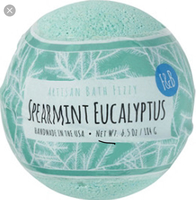 Fizz & Bubble Spearmint Eucalyptus Bath Fizzy