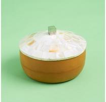 Mela Artisians Concha Round Box