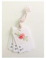 Fiber & Dye gift tags