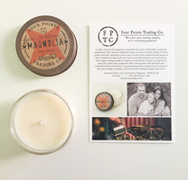 Four Points Trading Co. soy candle (Magnolia)