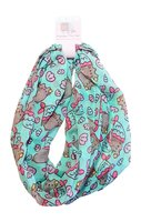Pusheen Mermaid Infinity Scarf