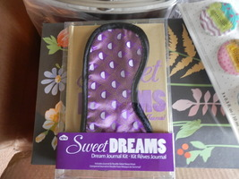 DREAM JOURNAL KIT WITH EYE MASK