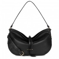 Lancaster Paris Dune Small Shoulder Bag Black
