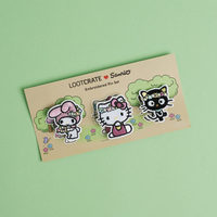 Sanrio Embroidered Pin Set