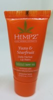 HEMPZ Yuzu & Starfruit Daily Herbal Lip Balm with SPF 15