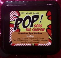 ELIZABETH MOTT Shimmer Eyeshadow Single in Goldy