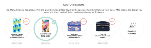 Beach Towel in Pineapple or Palm OR Yumi Kim Makeup Train Case in Navy or Floral
