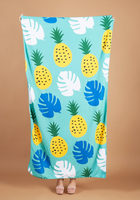 Summer & Rose Beach Towel in Pineapple