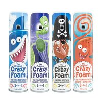 Original Crazy Foam bodywash shampoo and conditioner