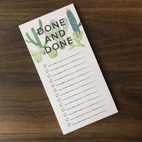 Done and Done Notepad