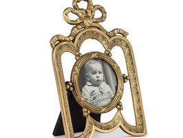 Ornate Frame with Bow