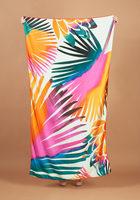 Summer & Rose Beach Towel in Palm Print