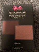 Sleek face contour kit