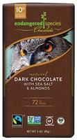 Endangered Species Dark Chocolate Seal Salt Almonds