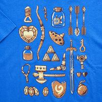 Zelda Tee Shirt from Aug 2017