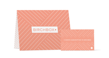 1 Year Birchbox Subscription!
