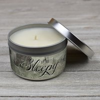 Cherry Pit Sleepy Hollow Candle
