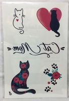 Cat MomTemporary Tattoos